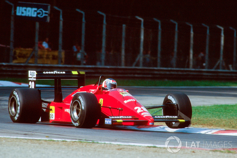 Gerhard Berger: Ferrari (1987-1989 y 1993-1995)