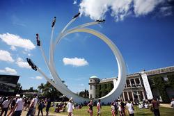 Escultura de Bernie Ecclestone