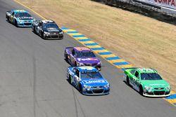 Jimmie Johnson, Hendrick Motorsports Chevrolet, Boris Said, Circle Sport – The Motorsports Group Che