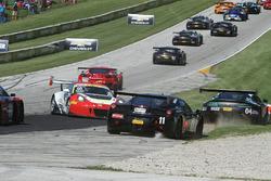 #16 Wright Motorsports Porsche 911 GT3 R: Michael Schein en problemas