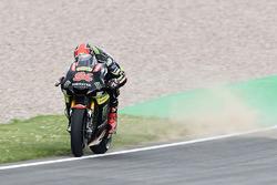 Jonas Folger, Monster Yamaha Tech 3, running over the dirt