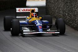 Williams FW14B Karun Chandhok