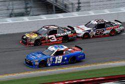 Matt Tifft, Joe Gibbs Racing Toyota, Ty Dillon, Richard Childress Racing Chevrolet, Joey Logano, Tea