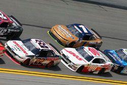 Joey Logano, Team Penske Ford Cole Custer, Stewart-Haas Racing Ford