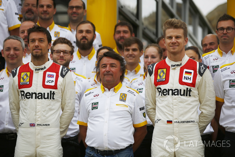 Джоліон Палмер, Ніко Хюлькенберг, Renault Sport F1 Team, Рене Арну
