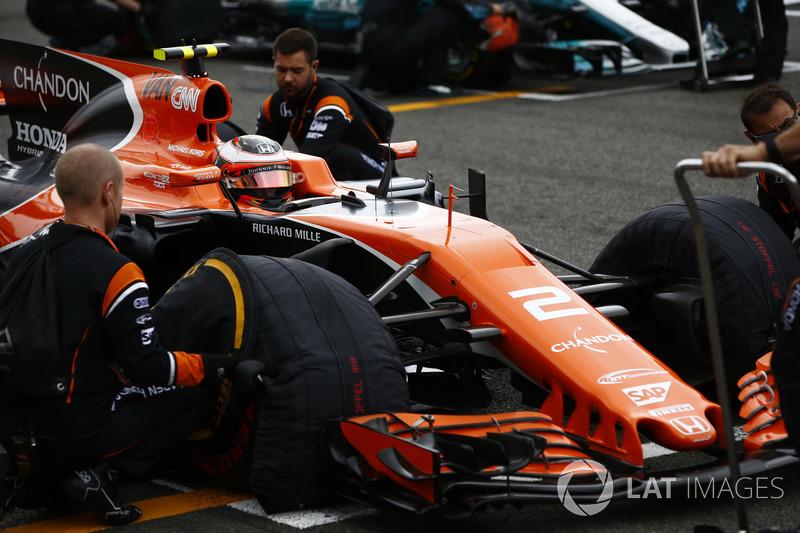 11. Стоффель Вандорн, McLaren MCL32