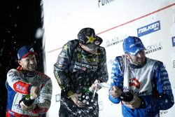 Podium: first place Fredric Aasbo, second place Kristaps Bluss, third place James Deane