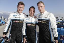 Nicky Catsburg, Thed Björk, Nestor Girolami, Polestar Cyan Racing, Volvo S60 Polestar na MAC3