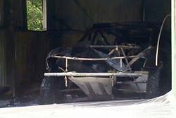 Peter Brock'un Dakar aracı yangın sonrası