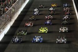 Макс Чілтон, Chip Ganassi Racing Honda, Джозеф Ньюгарден, Team Penske Chevrolet, Вілл Пауер, Team Pe