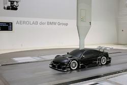 BMW M4 DTM in de windtunnel
