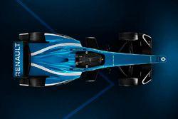 Nouvelle livrée de la Renault e.Dams Z.E.17