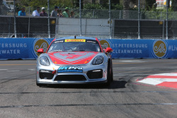 #3 Flying Lizard Motorsports Porsche Cayman GT4 Clubsport MR: Rodrigo Baptista