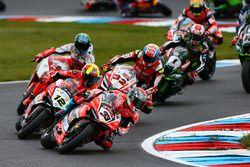 Marco Melandri, Ducati Team leads