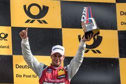 Podio: Loic Duval, Audi Sport Team Phoenix, Audi RS 5 DTM