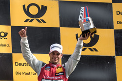 Podium: Loic Duval, Audi Sport Team Phoenix, Audi RS 5 DTM