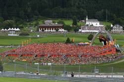 KTM-Tribüne am Red-Bull-Ring in Spielberg