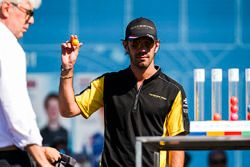 Jean-Eric Vergne, Techeetah, at the Qualifying Lottery