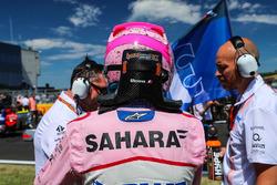 Esteban Ocon, Force India F1 sur la grille