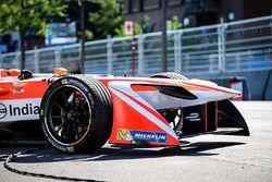 De wagen van Felix Rosenqvist, Mahindra Racing