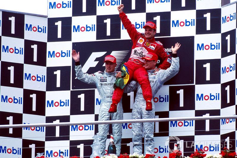 3. Deutschland 2000, David Coulthard vor Michael Schumacher - 1,366 Sekunden