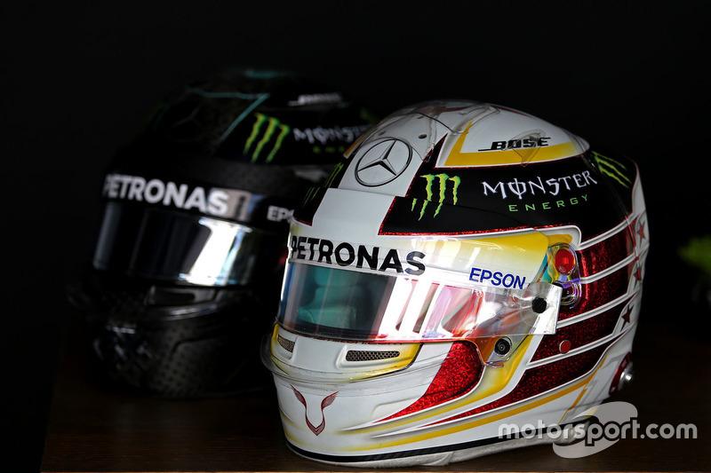 Helm von Lewis Hamilton, Mercedes AMG F1
