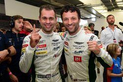 LMGTE Pro Polesitters: #97 Aston Martin Racing Aston Martin Vantage GTE: Darren Turner, Jonathan Adam