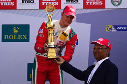 Race winner Mick Schumacher