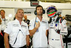 Fritz Enzinger, Mark Webber, Brendon Hartley, Porsche Team