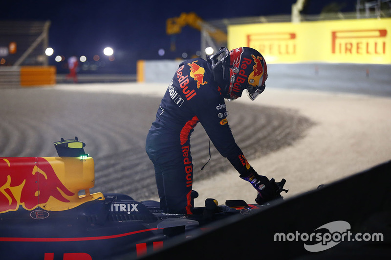 DNF Max Verstappen, Red Bull Racing