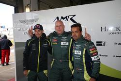 Pole position GTE-Am: #98 Aston Martin Racing Aston Martin Vantage: Mathias Lauda, Paul Dalla Lana,