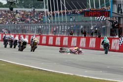 Bo Bendsneyder, Red Bull KTM Ajo rashes over chequered flag
