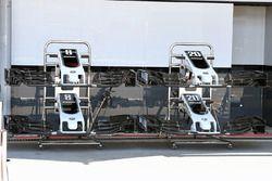 Haas F1 Team VF-17 nariz y alas delanteras