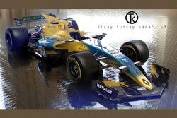 Renault F1 2017 Fantezi Konsept Tasarım