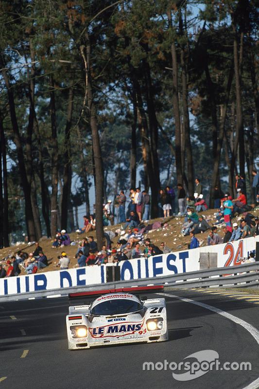 #21 Obermaier Racing, Porsche 962C: Otto Altenbach, Jürgen Oppermann, Loris Kessel