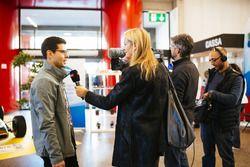 Giuseppe Lorito, organizzatore di Ticino Motor Expo, intervistato da Patrizia Peter, giornalista RSI