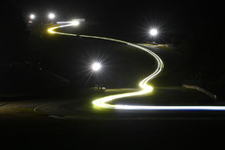 Trailing lights at night practice
