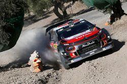 Khalid Al-Qassimi, Chis Patterson, Citroën C3 WRC, Citroën World Rally Team