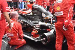 Motor de Kimi Raikkonen, Ferrari SF70H