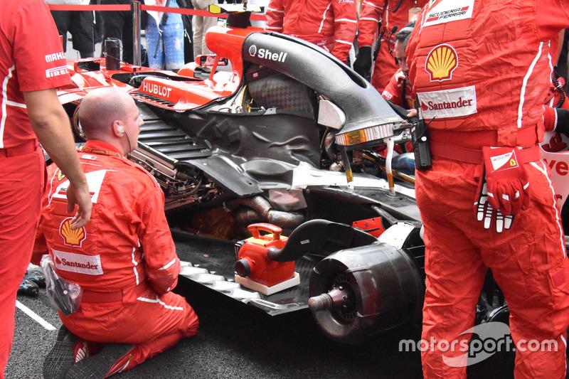Ferrari SF70H: Raikkonen en Sepang