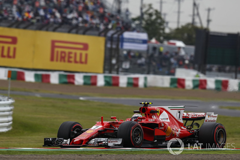 11. Kimi Raikkonen, Ferrari SF70H (penalti lima grid)
