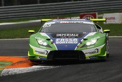 #63 Imperiale Racing Lamborghini Huracan GT3: Giovanni Venturini, Marco Mapelli