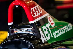 Roll hoop on car of Daniel Abt, Audi Sport ABT Schaeffler