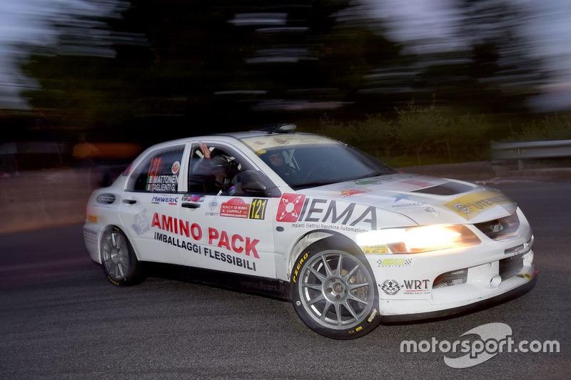 Mattonen, Giulia Taglienti, Mitsubishi Lancer evo X, Winners Rally Team