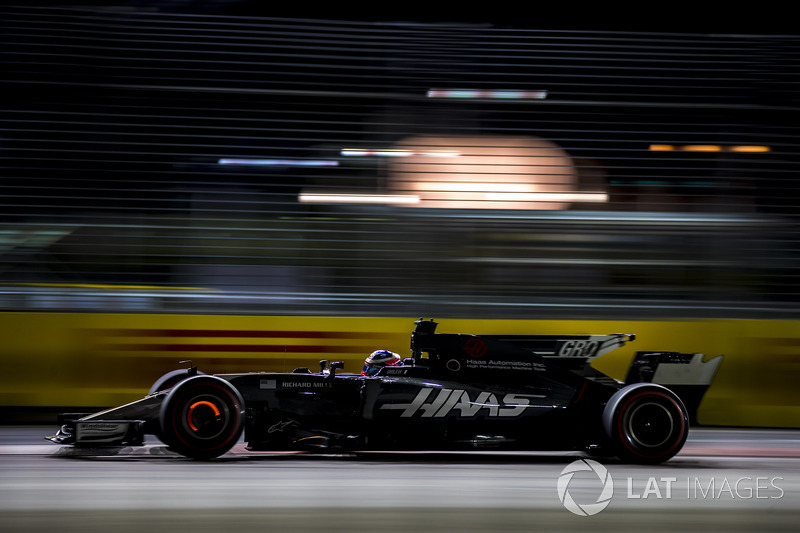 15. Romain Grosjean, Haas F1 Team VF-17
