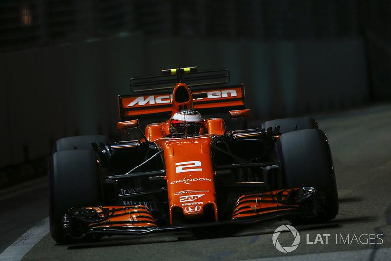 7. Stoffel Vandoorne, McLaren MCL32