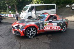 Andrea Modanesi, Daniele Renzetti, Fiat 124 Abarth RGT
