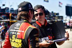 Erik Jones, Joe Gibbs Racing Toyota, Christopher Gabehart