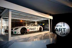 Presentation John Baldessari BMW M6 GTLM Art Car