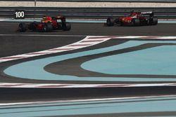 Kimi Raikkonen, Ferrari ve Daniel Ricciardo, Red Bull Racing 2017 Pirelli lastiklerini test ediyor